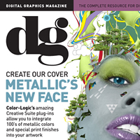 Use Color-Logic Plug-ins to Create a Metallic Magazine Cover -
