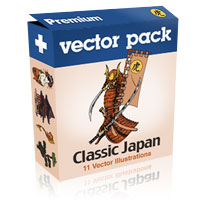 Premium Vector Pack – Classic Japan