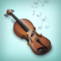 How to Illustrate a Marvelous Violin Icon