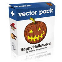 Premium Vector Pack – Happy Halloween