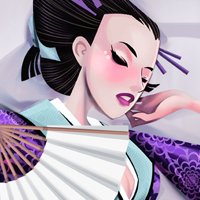 How to Draw a Kimono Dancer Using Adobe Flash and Corel Painter  Vector Premium Tutorial