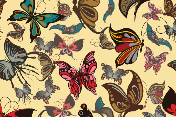 Free Vector Downloads of Illustrator Patterns for Vintage Design 10