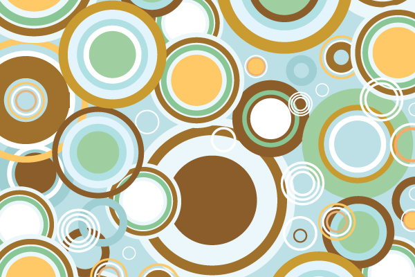 Free Vector Downloads of Illustrator Patterns for Vintage Design 5