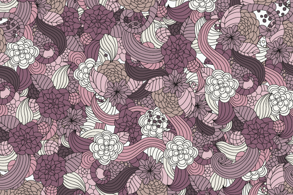 Free Vector Downloads of Illustrator Patterns for Vintage Design 7