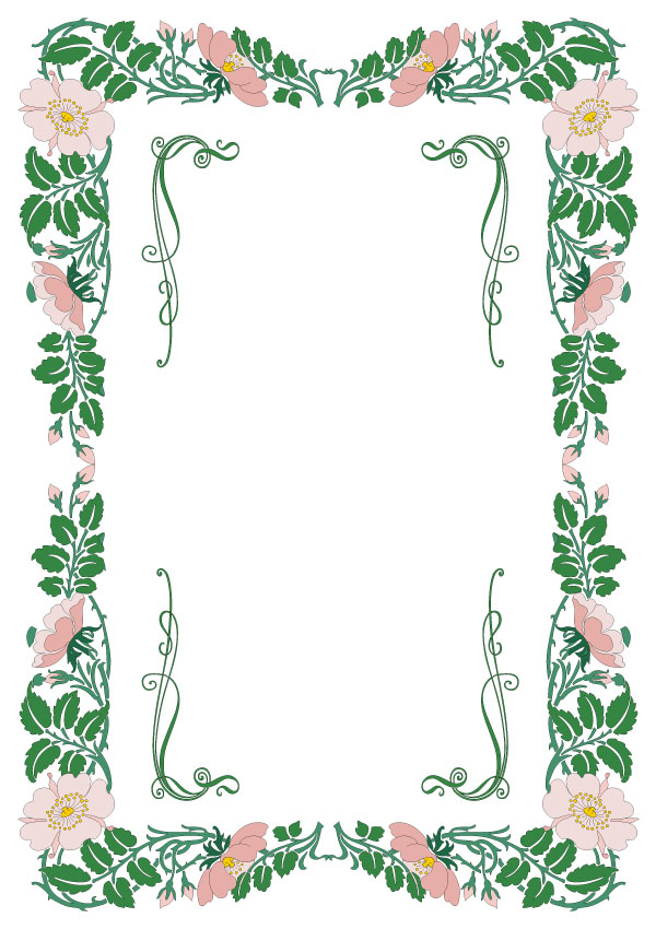 Vector Graphics Floral Borders Corners And Frames Vectortuts