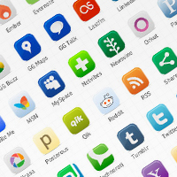 23 Free, Vector Icon Packs for Social Media