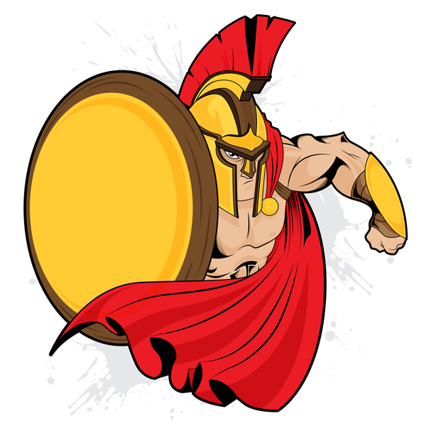 9-spartan-mascot