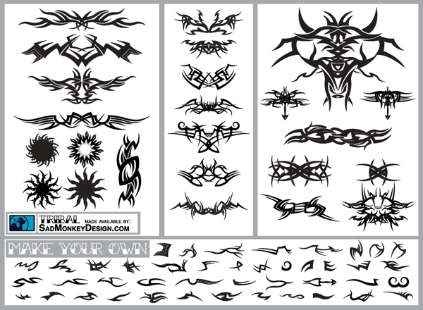 200+ Free Vectors: Tribal Graphics & Tattoo Designs | Vectortuts+