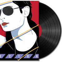 Create a Vinyl Record and 80′s Album Cover – Vector Premium Tutorial