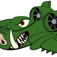Create an A-10 Warthog, Character Illustration &#8211; Vector Premium Tutorial