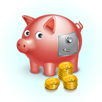 Create a Shiny Piggy Bank Icon Using Adobe Illustrator – Vector Premium Tutorial