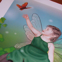 Create a Personalized Child Fairy Print – Vector Premium Tutorial