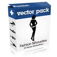 Premium Vector Pack – Fashion Silhouettes