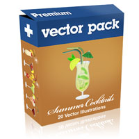 Premium Vector Pack &#8211; Summer Cocktails