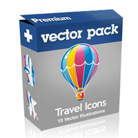 Premium Vector Pack &#8211; Travel Icons