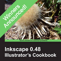 Inkscape 0.48 Illustrator's Cookbook : Winners Announced!