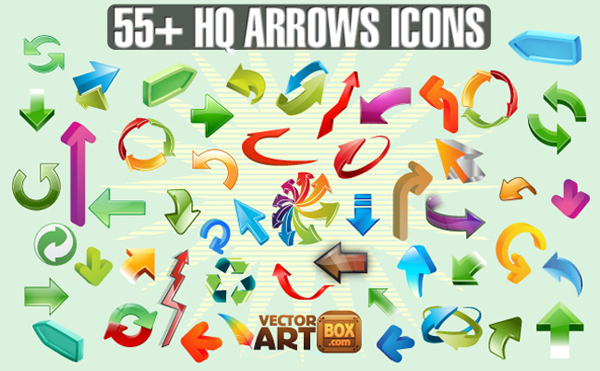 9-arrows-icons