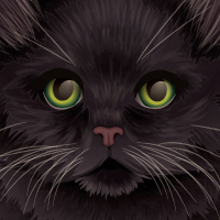 Create a Fluffy Halloween Cat using the Paintbrush Tool and Gradients &#8211; Tuts+ Premium Tutorial