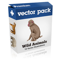 Tuts+ Premium Pack – Wild Animals