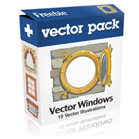 Exclusive Freebie Pack &#8211; Vector Windows