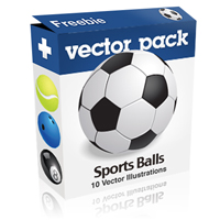 Exclusive Freebie Pack &#8211; Shiny Vector Sports Balls