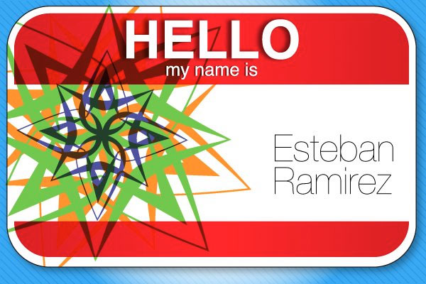 customized name tag project round 2 - Name Tag Design Ideas