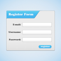 Quick Tip: How to Create a Simple Register Form Design
