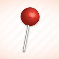 Quick Tip: How to Create a Simple 3D Lollipop Icon