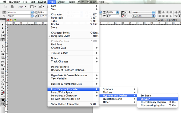 how to get word count in indesign