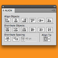 Quick Tip: Align and Distribute in Adobe Illustrator