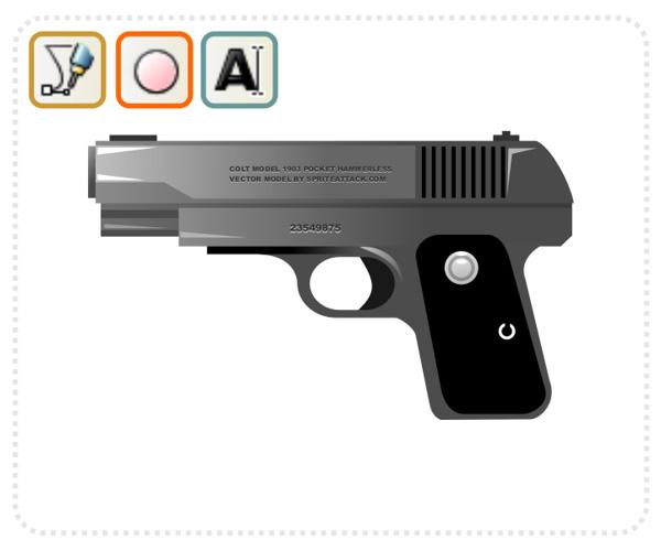 creando un arma cl u00e1sico con inkscape