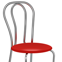 Quick Tip: How to Create Metal Chair Using Gradient on Strokes in Adobe Illustrator CS6