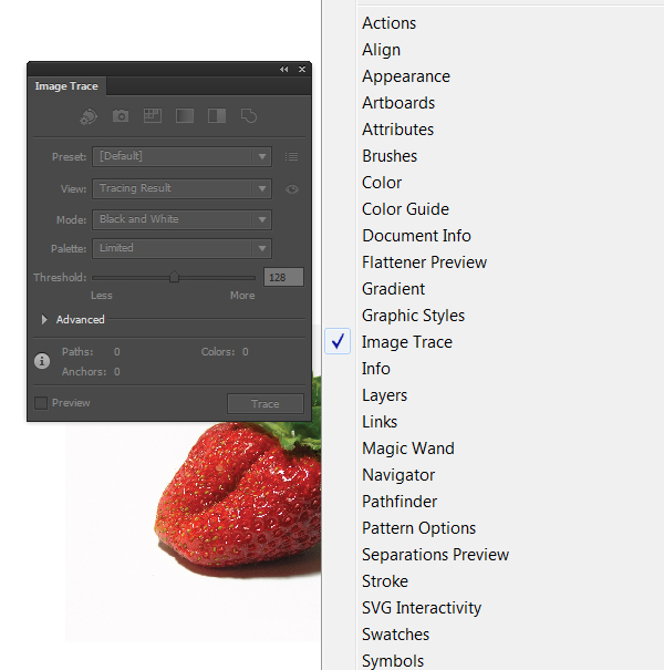 How to Use the New Image Trace in Adobe Illustrator CS6