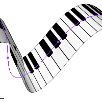 Quick Tip: Create a Piano Keyboard Ribbon Using 3D Effects