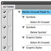 Quick Tip: How to Set Illustrator Actions
