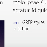 Quick Tip: Automatic Formatting using GREP Styles in Adobe InDesign