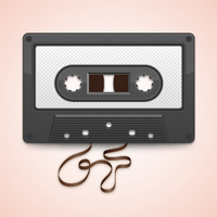 Create a Vector Cassette Tape Illustration