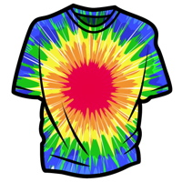 Create Vector Tie-Dye Using Illustrator&#8217;s Distort Effects