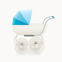 Create a Classic Baby Stroller in Adobe Illustrator