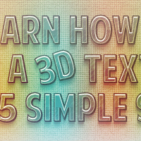 Create a 3D Grungy Text Effect in Illustrator
