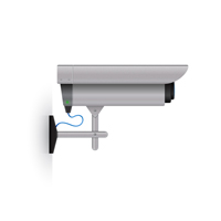 Create a Detailed Surveillance Camera Illustration