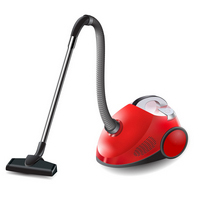 How to Illustrate a Vector Vacuum Cleaner