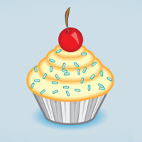 Create a Tasty Cupcake Icon in Adobe Illustrator