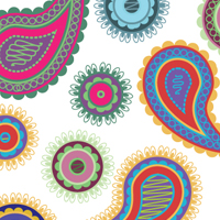 Creating Paisley Graphic Styles with Scatter Brushes and Recolor Artwork