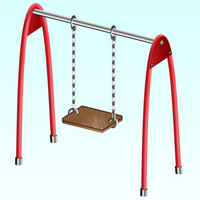 Create a Childrens Swing using Clipping Masks and Blends