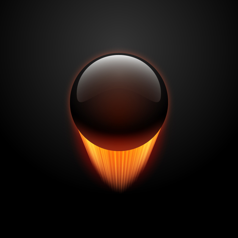 How to Create an Ultra Glossy Flaming Ball in Adobe Illustrator