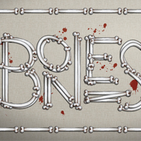 How to Create a Bone Calligram with Art Brushes
