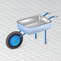 How to Draw a Wheelbarrow in Perspective in Adobe Illustrator