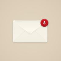 Create to Mailbox Alert Icon in Illustrator
