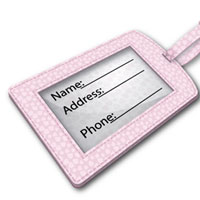 Create a Cute, Stylized Suitcase Tag in Pink